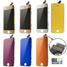 Mirror Color LCD Display+Touch Screen Digitizer Assembly Replace For iPhone 5 5G
