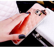Luxury Mirror Soft TPU Chrome Cover Case For Samsung Galaxy S7/S6 Edge Note 5