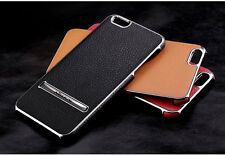 Nillkin Leather back Cover Metal Adjustable Stand Hard Case For iphone 6/6 Plus