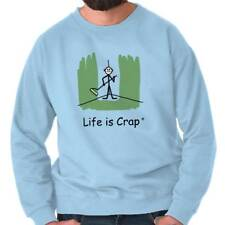 Life Is Crap Painted Corner Good Life Funny Shirts Gift Ideas Sweatshirt