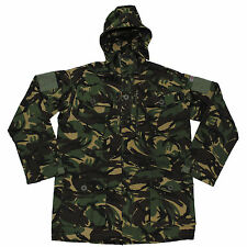 New Genuine British Army GB Windproof Hooded SMOCK Jacket DPM Camo