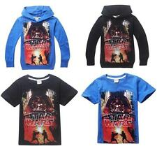 Childs Boys Girls T-Shirts/Hoodies Cool Unixes Top STAR WARS Coat Kids Clothing