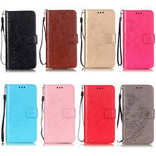 Luxury Flower Wallet Leather Flip Case Cover Stand For Sony Xperia M2/M4/Z3 Mini