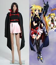 Magical Girl Lyrical Nanoha Fate Testarossa Robe Cosplay Costume Halloween