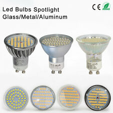 LED Bulbs 80/60/54/48/44 SMD Lamps Spot Lights GU10 Day Warm White Lamps CE New