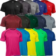 2016 Under Armour Mens HeatGear Tech Short Sleeve Training T-Shirt NEW