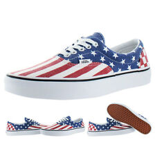 Vans Van Doren Authentic Men's Unisex American Flag Sneakers Shoes US Sizes