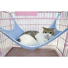 Puppy Cat Pet Hanging Cage Mesh Hammock Bed Dog Muti-functional Ferret Bed