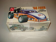 1940 FORD EARLY MODIFIED - AMT PLASTIC MODEL KIT #T167 - NOS - FACTORY SEALED