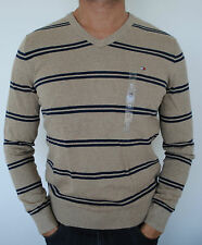 100% AUTHENTIC MENS TOMMY HILFIGER COTTON KNIT SWEATER / JUMPER SIZE M