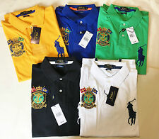 New Polo Ralph Lauren Mens Custom Fit Big Pony T Shirt Short Sleeve RRP £98