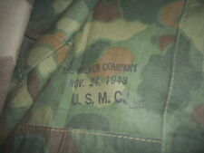 U.S.ARMY: 1943 WWII U.S.MARINES,PONCHO,CAMOUFLAGE SHELTER,OR TENT  1943