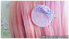 Cute Pastel hair clips,Fairy Kei hair clip,Kawaii goth rockablilty hair clips
