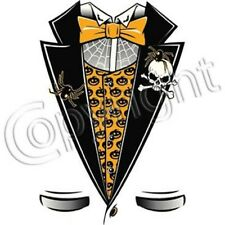 Halloween Party Tuxedo T-Shirt & Tank Tops All Sizes & Colors