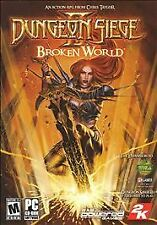 DUNGEON SIEGE II: BROKEN WORLD PC CD-ROM *NEW FACTORY SEALED FULL RETAIL PRODUCT