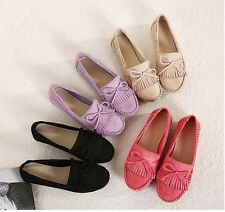 New Casual Women Low Heels Shoes Slip-on Single Ballet Flats Loafers & Moccasins