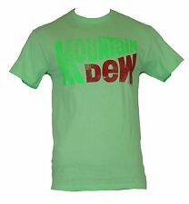 Mountain Dew Mens T-Shirt - Minty Green Classic Logo Image