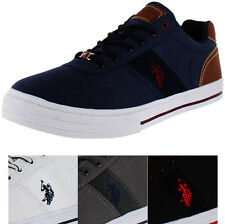 U.S. Polo Assn. Helm Men's Canvas Fashion Sneakers Shoes US Sizes