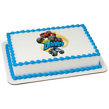 Blaze and Monster Machines edible image custom cake topper frosting icing #37490