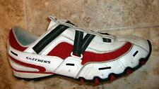 SKECHERS SLIP ON  LEATHER ATHLETIC SHOES / SNEAKERS  SIZE 9 .5