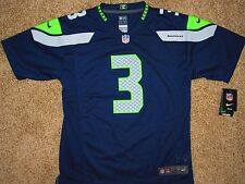 Youth Nike Russell Wilson #3 NFL Seattle Seahawks HOME Jersey S,M,L,XL NWT
