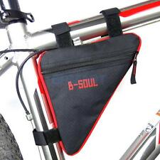 Oxford Bicycle MTB Frame Tube Front Triangle Saddle Bag Pouch Pannier Case