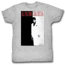 Scarface T-Shirt Poster Athletic Heather T-Shirt