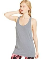 Calvin Klein Relaxed Racer Back Running Tank Top Gray M L NWT W2
