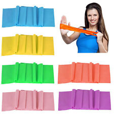 Tension Exercise Resistance Bands Elastic Gym Yoga Strength Weight Training