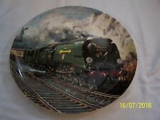 Wedgwood Golden Arrow Plate Famous Trains Royal Mail Collection Terence Cuneo