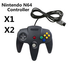 1x 2 x Long Handle Game Controller Pad Joystick for Nintendo 64 N64 System U.S.A