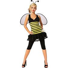 Holiday Time Sweet as Honey Bumble Bee Adult Girl Halloween Fancy Party Costume