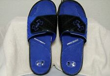 UNDER ARMOUR UA MICRO G EV II MEN'S SLIDES, BLK/TEAM ROYAL, SIZE 10, 1255798 007