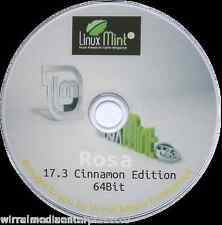 Linux Mint Rosa 17.3 Operating System Alternative To Windows PC/Laptop 64Bit