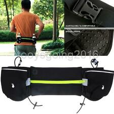 Utility Running Gym Cycling Sports Water Bottle Holder Waist Belt Bum Bag