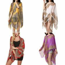 Beach Holiday Summer Chiffon Long Soft Scarves Shawl Wrap Scarf Stole Scarves