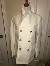 NWT Burberry London Men's Double Breasted Cotton Trench coat Jacket 40 42 $1795