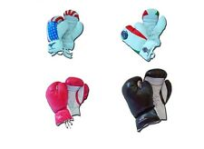 12oz Boxing Gloves Training MMA Muay Thai Mitts Fighting Sparring Punching Bag
