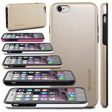 """Film + Hybrid Shockproof Rugged Rubber Hard Case Cover For 4.7"""" iPhone 6 / 6S"""