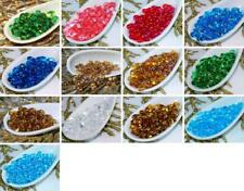 Clear Farfalle Seed Beads Glass Czech Seed Beads PRECIOSA Farfalle Peanut Beads