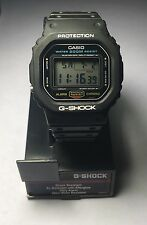 Vintage Rare 1980's Casio G-Shock DW-5600C Watch JAPAN S (691) New Band & Bezel