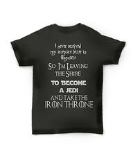 GAME OF THRONES HARRY POTTER LORD OF THE RINGS STAR WARS INSPIRED T SHIRT TEE