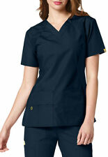 WonderWink Medical Scrub Origins Lima Navy Utility Top Sz XS-XL NWT