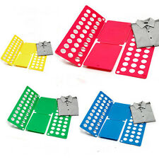 Fast Speed Folder Adult Child Clothes Coat Shirt Flip Fold Folding Board us