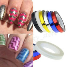 Tape Line Decoration Sticker Rolls For Nail Polish Nail Art Striping Tips 3D DIY