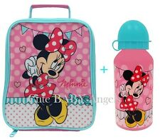 Minnie Mouse Tall  Insulated Lunch/Dinner School Bag/Box Cool Hot Drink & Food