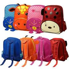 Cute Boy Girl Toddler Kids Cartoon Backpack Schoolbag Shoulder Bag Rucksack W8X2