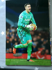 ADRIAN WEST HAM UNITED FC HAMMERS HAND SIGNED 12X8 PHOTO