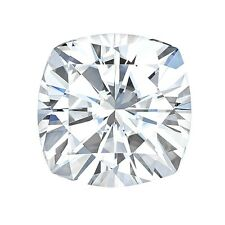 Certified Cushion Forever ONE Charles & Colvard Loose Moissanite Stone - 2 Carat