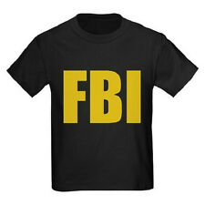 FBI T-Shirt All Youth Sizes And Colors Kid Sizes